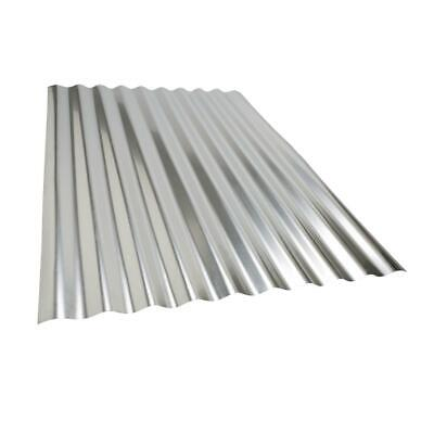 Project Panel Corrugated Galvanized Steel Roof Panel 36 In. X 27 In. 30 Gauge 3