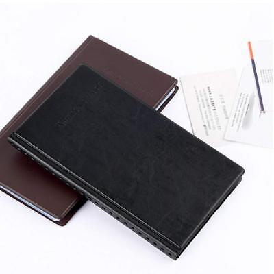 Business Card Holder Journal Business Card Organizer Professional Pu Leather
