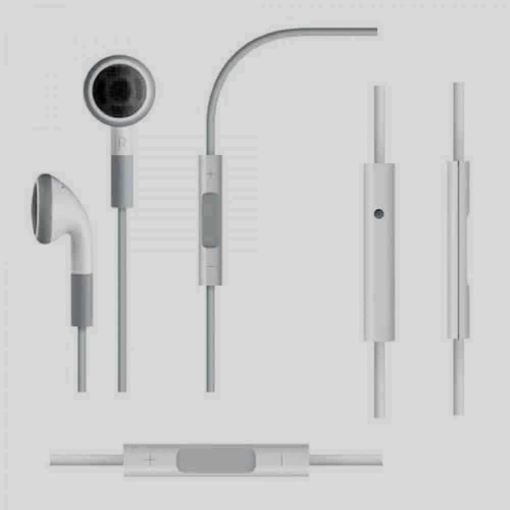 NEW OEM Apple Earphones wth Remote & Mic MB770G  - WHITE - B