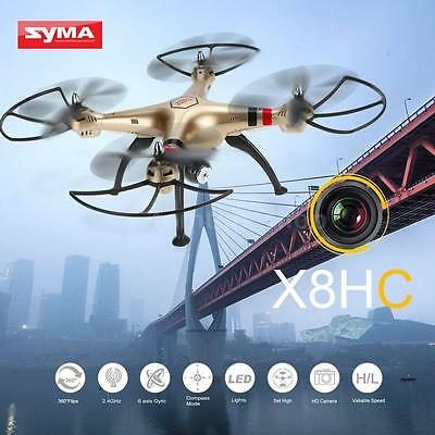 High Quality Syma X8HC 2.0MP HD Camera RC Quadcopter US STOCK