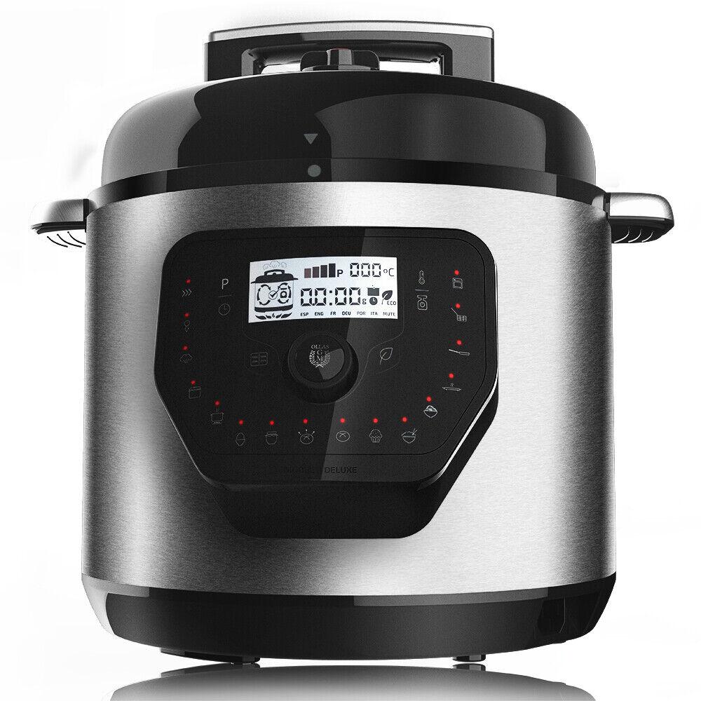CECOTEC Olla GM H Deluxe / Olla programable eléctrica con capacidad 6L y Bascula