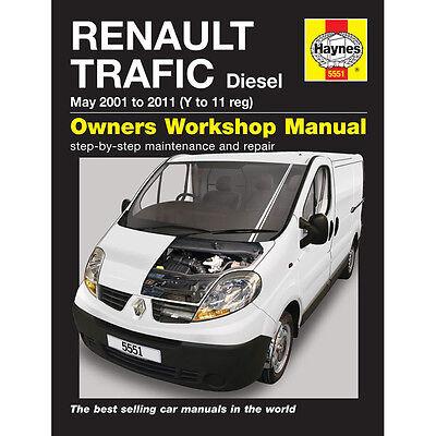 Renault Trafic 1.9 2.0 Diesel 2001-2010 (Y to 10 Reg) Haynes Manual