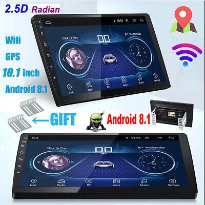 Android 8.1 10.1'' 2 Din GPS Navi Car Stereo Radio Bluetooth USB WIFI FM 2.5D