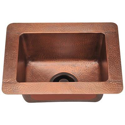 905 Small Segregate Bowl Copper Sink