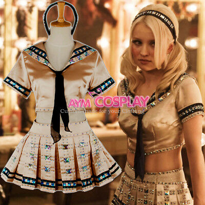 Sucker punch-Baby doll outfit Uniform movie Costume Tailor-made[G754] - Babydoll Sucker Punch Outfit