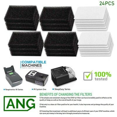 CPAP Ultra Fine Foam Filters for M Series PR System and Sleep-Easy Series Device