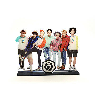 Got7 Kpop Stars Group Family Acrylic Stand Figure Model Home Table Decoration