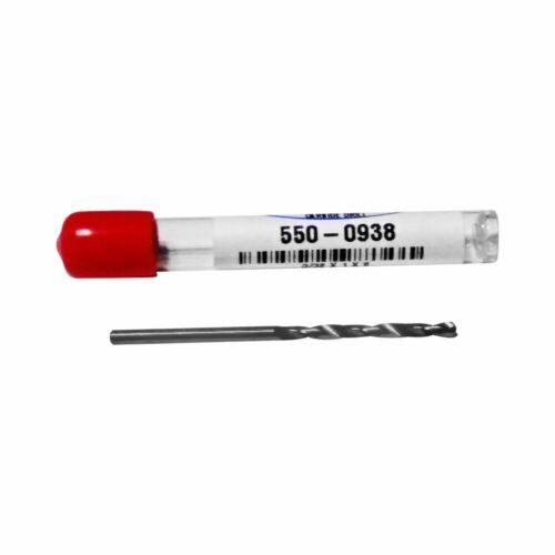 3/32 .0938 Solid Carbide Jobber Length Twist Drill Bit 550-0938 USA