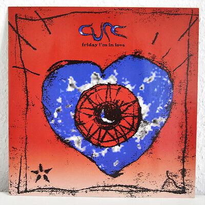 "The Cure - Friday I'm In Love, 12"" Vinyl Maxi, NEU/MINT - ULTRA RARE"