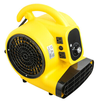 14hp Air Mover Durable Lightweight Carpet Dryer Utility Floor Blower Janitorial