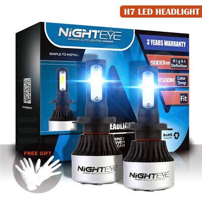 NIGHTEYE 2x 72W 9000LM H7 LED Auto Scheinwerfer Birnen Leuchte Lampen 6500K Kit online kaufen