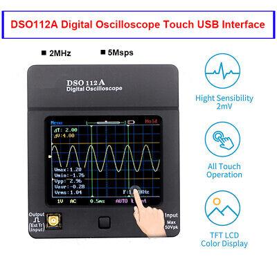 Dso112a Digital Oscilloscope Portable Storage Tft Tester Multimeter 2mhz 5msps