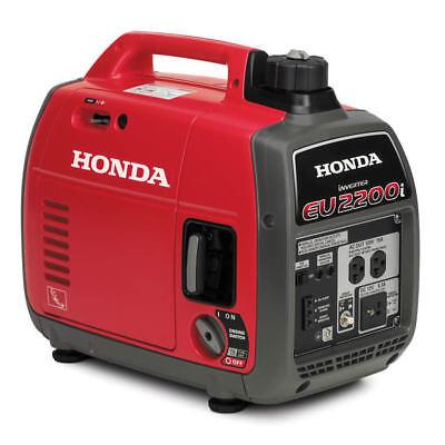 Honda EU2200i 2200-Watt 120-Volt Super Quiet Portable Inverter Generator - NEW!