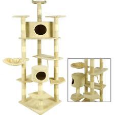New Beige 80 Cat Tree Condo Furniture Scratching Post Pet Cat Kitten House 9080