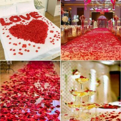 Silk Rose Petals (2000/1000pcs Silk Rose Petals Artificial Flower Petal Wedding Party)