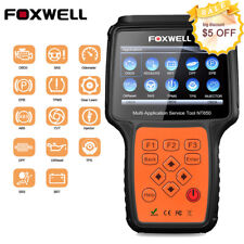 FOXWELL NT650 OBDII Diagnostic Scanner EPB SAS BMS DPF ABS SRS AT Oil Reset Tool