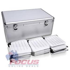 Aluminium CD DVD Bluray Storage Case Box 500 Discs SL North Melbourne Melbourne City Preview