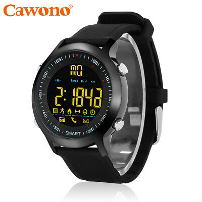 Waterproof Percipient Wrist Watch Bluetooth Phone Mate For IOS Android iPhone Samsung