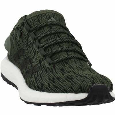 adidas Pureboost  Casual Running  Shoes - Green - Mens