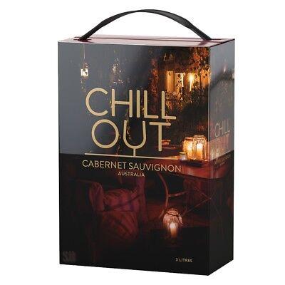 Chill Out Smooth & Soft Cabernet Sauvignon Rotwein 13,5%vol Bag in Box BiB 3L