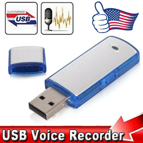 SPY Mini 8/16/32GB USB Disk Pen Drive Digital Audio Voice Re