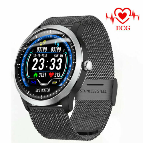 n58 ecg ppg smart watch display holter