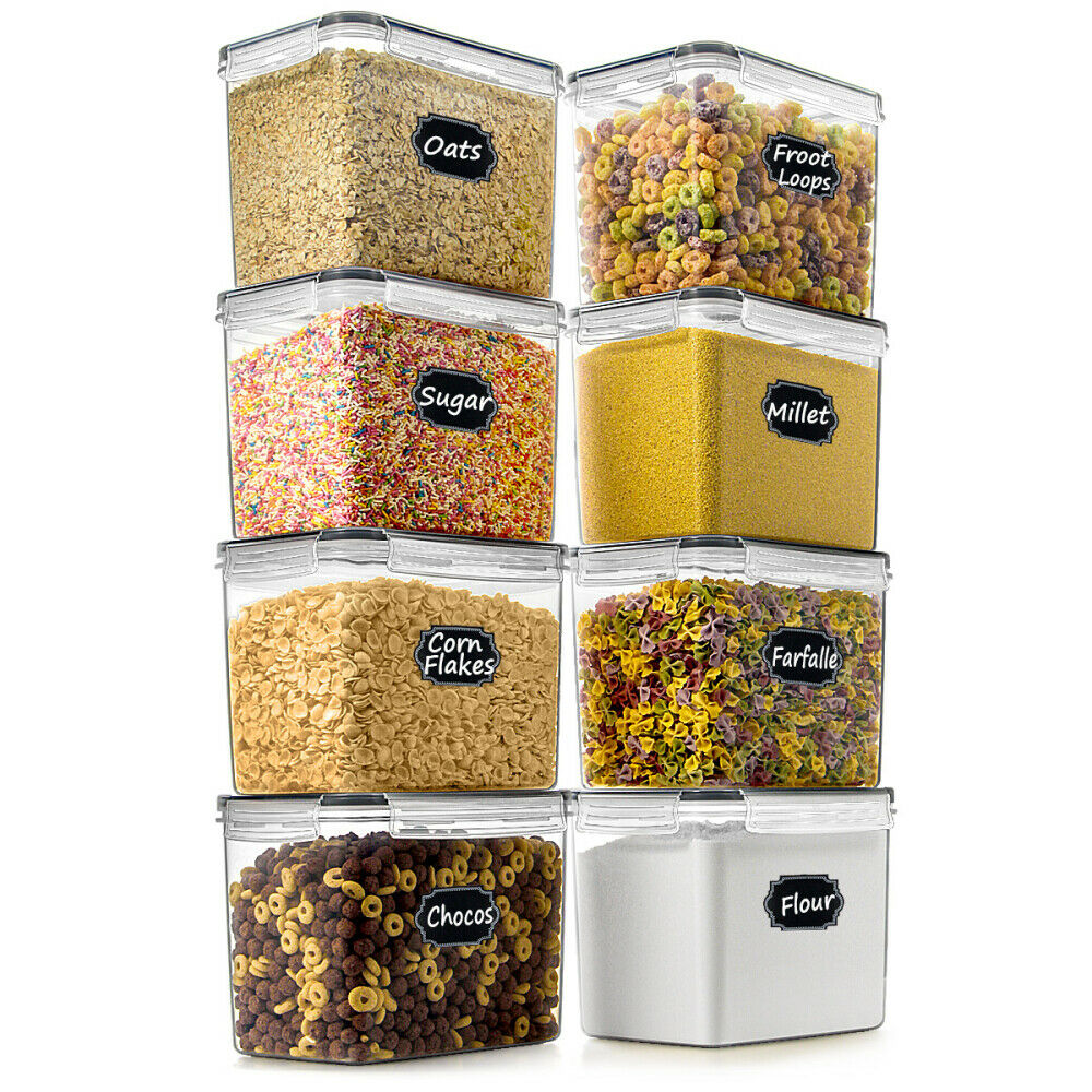 EXTRA Large Wide Deep Food Storage Airtight Pantry Container