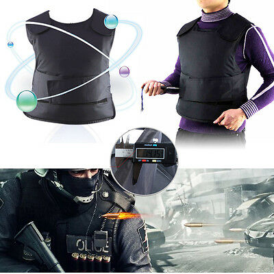 UK Stab Proof Anti-stab Body Tactical Armour Vest Security Safe Guard Jacket