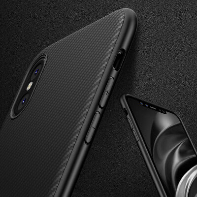 For Apple iPhone X What really happened Black Armor Soft Flexible TPU Case Cover 2017 Released