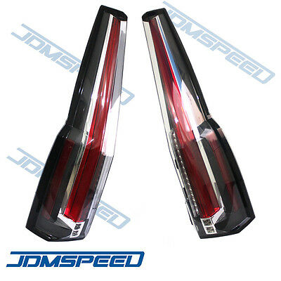For 2015 2016 GMC Yukon Tail Lights LED Rear Lamp Brake Cadillac Escalade Style