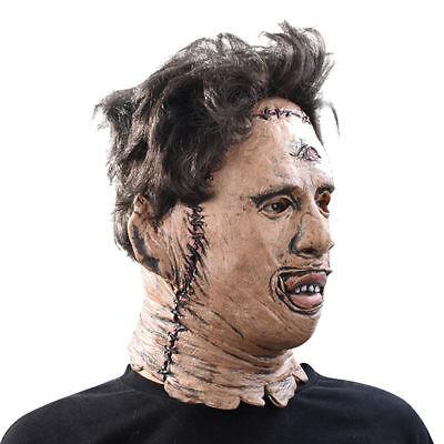 Leatherface Maske Latex 3D The Texas Chainsaw Massacre Karneval Halloween Ko