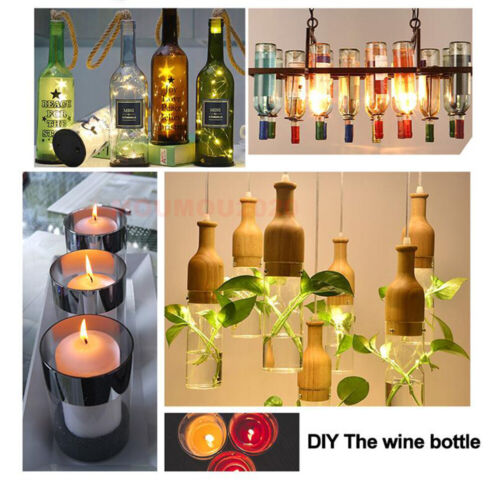 как выглядит 2x Glass Wine Beer Bottle Cutter Cutting Machine Art Crafts Recycle DIY Tool Kit фото