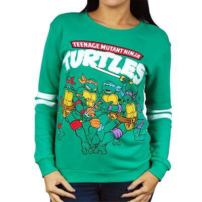 Damen Retro Teenage Mutant Ninja Turtles Sweatshirt by - Ninja Turtle Sweatshirt