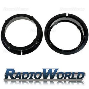 VW Golf IV,Passat, Polo, Skoda, Seat Leon Speaker Adaptors Rings 165mm 6.5
