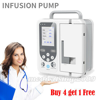Rechargable Volumetric Infusion Pump Sp760 Alarmversatile Bracket New