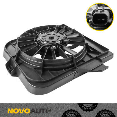 Radiator Cooling Fan Assembly For Town&Country Grand Caravan 01-05 Voyager 01-03
