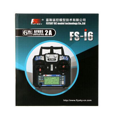 Flysky FS-i6 AFHDS 2A 2.4GHz 6CH Radio System Transmitter for RC Drone N5G4