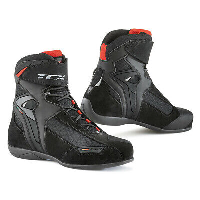 TCX Vibe Air Motorcycle Boots Waterproof Sport Street Riding Commute Moto Shoes Air Motorcycle Boots