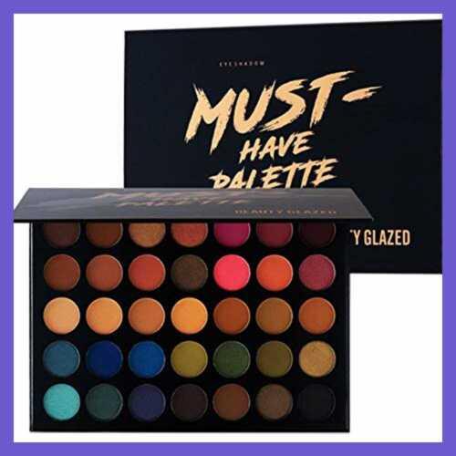 Beauty Glazed Make Up Eyeshadow Palette 35 Colors Blendable