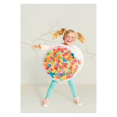 Toddlers Fruity Bowl of Cereal Halloween Costume Hyde and Eek! Boutique One Size](Bowl Of Cereal Halloween Costume)