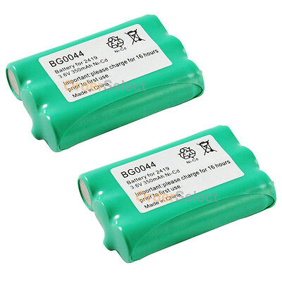 2 NEW Rechargeable Phone Battery Pack for Empire CPH-505 CPH505 Dantona BATT2419 Rechargeable Batt Pack