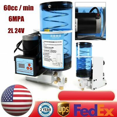 Electric Grease Pump Lubrication Pump Oiler Punching Butter Pump Automatic 2l