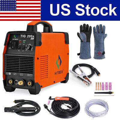 Hitbox Tig200a Tig Welder 110v200v Inverter Stick Mma Arc Tig Welding Machine