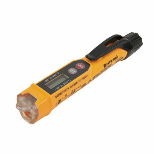 Klein Tools NCVT-4IR Non-Contact Voltage Tester With Infrared Thermometer