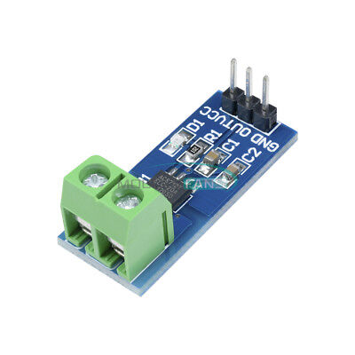 20a Range Current Sensor Module Acs712 Module Arduino Module Acs712t New Design