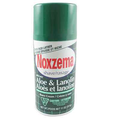 Noxzema Medicated Shave with Aloe & Lanolin -- 11 oz