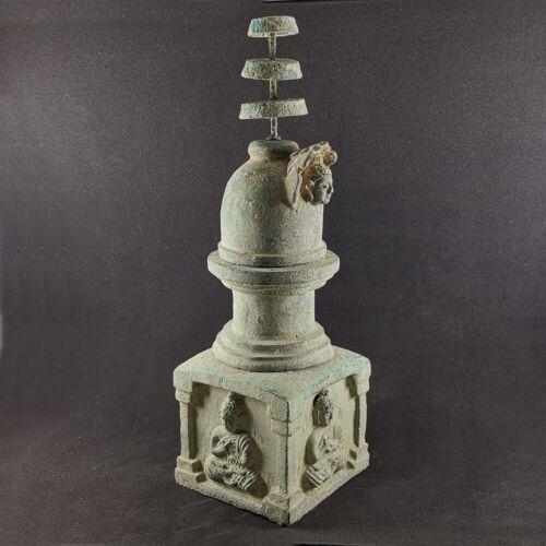 """Ancient Gandhara / Gandharan Bronze Buddha Stupa 12.5"""" #552"""