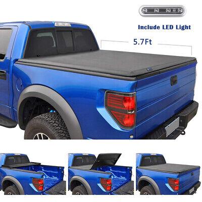 2009-2018 Ram 1500 2010-18 Ram 2500/3500 5.7ft Short Bed Tri-Fold Tonneau Cover