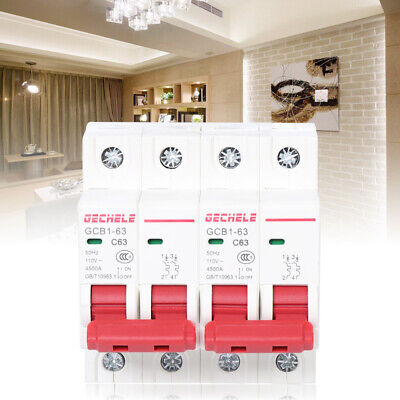 Dual Power Manual Transfer Switch For Generator Changeover Safety Switch 2p 63a