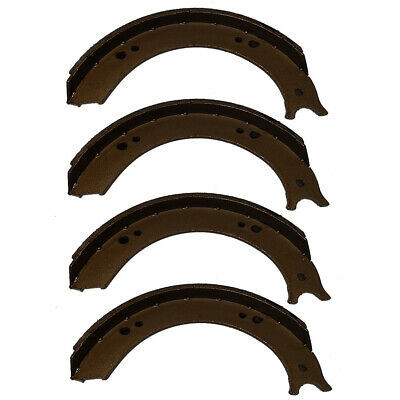 9n2019 Set Of 4 Brake Shoes Fits Fordfits New Holland Tractor 2n 9n